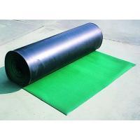 ゴム製の床養生滑り止めマット。(B山マット・B山ゴムマット)  表面が筋入りのため滑りにくく、通路用...