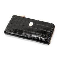 0877d0b84b74 送料無料PRIMA CLASSE(プリマクラッセ)PSW9-2139 クロコ型押しレザーラウンドジップ長財布(ブラック)