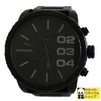 ★商品名 中古 DIESEL ディーゼル DZ-4207 クオーツ メンズ腕時計 ブラック ★状態ラ...