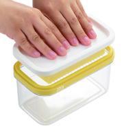 ギュッとひと押しで、バターを簡単にうす切りにカットできます。450gのバターは約10gに、200gの...