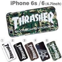 iPhone6 ケース カバー THRASHER スラッシャー ハード ケース スケーター スケボー...