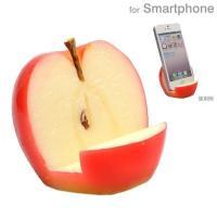 食品サンプル スタンド スマホ スマートフォン グッズ おもしろ 趣味 グッズ リンゴ りんご  ス...