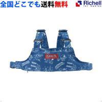 ベビーチェア リッチェル スヌーピー 2WAYチェアベルトR ホールドチェアベルトR ブルー ポーチ Richell 全国送料無料 正規品