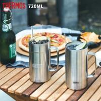 サーモス タンブラー ジョッキ マグカップ 0.72L 大容量 真空断熱 ステンレス JDK-720 ビール THERMOS コーヒー