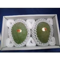 緑色の超大玉、味は濃厚、肉厚食べ応えあり(秀品)