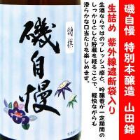 磯自慢 特別本醸造 山田錦 生詰 (いそじまん)   生酒ならではのフレッシュ感と、吟醸香が一定期間...