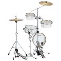 """人気のパーカッション""""ボックスカホン""""より本格的なドラムサウンドが得られ、通常のコンパクトセットより..."""
