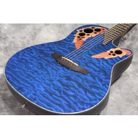 Body Style Mid-Depth Cutaway Top Quilt Maple Top F...