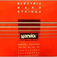 厳選された素材のみを使用したワーウィック製のステンレスエレキベース弦。 バランスの取れた倍音特性、そ...