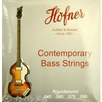 ヘフナーのHCTシリーズへ、工場出荷時に張られているバイオリンベース専用エレキベース弦。 ショートス...