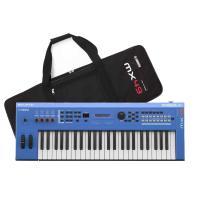 MX49 BUは「良い音を気軽に持ち運ぶシンセサイザー」をコンセプトとした軽量コンパクトボディー、高...