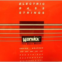 厳選された素材のみを使用したワーウィック製のステンレスエレキベース弦。  バランスの取れた倍音特性、...