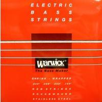 厳選された素材のみを使用したワーウィック製のニッケルエレキベース弦。  バランスの取れた倍音特性、そ...