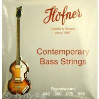 ヘフナーのHCTシリーズへ、工場出荷時に張られているバイオリンベース専用エレキベース弦。  ショート...