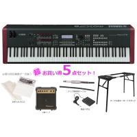 【セット内容】 ■YAMAHA / MOXF8 ■PG-10 (練習用 小型アンプ) ■PS-230...