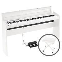 (ポイント5倍)KORG コルグ / LP-180 WH(椅子セット)ホワイト 電子ピアノ(年末ウルトラセール)(クリスマスセール)(送料無料)