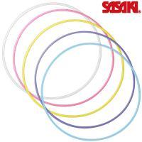 新体操 ササキ スポーツ スタンダードフープ M-13 【メール便不可】 SASAKI 体操 フープ フラフープ 手具