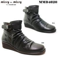 安心の日本製  マドラス社製missy des missyのショートブーツです。  柔らかな革を使用...
