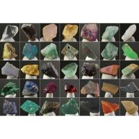35種類の天然石の原石の詰め合わせ 1cm〜2cmくらいの大きさの原石を揃えてあります。 ※模様や色...