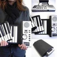 ロールピアノ くるくる巻ける 電子ロールピアノ ET-SP061