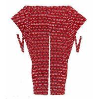 皆さんご存じ祭衣装のトップブランド「江戸一」とんぼ股引は、 男女別の豊富なサイズ展開で、生地から縫製...