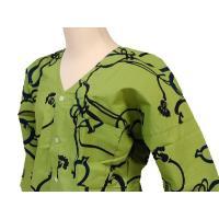 昔ながらの手染めの鯉口シャツです!プリントでは出せない独特の色合いがお楽しみいただける通好みの鯉口シ...