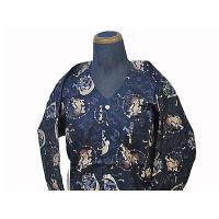弊店オリジナルお買い得プリント鯉口シャツ、柄は人気の「風神雷神」です。 本品1点の場合(3LはDM便...