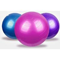 送料無料 バランスボール 55cm 65cm 加厚タイプ アンチバーストで安全 ジムボール ヨガボール ストレッチ 耐荷重350kg