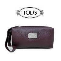 ブランド:TOD'S トッズ 素材型押しレザー カラー パープル サイズ(約)縦(H)7.5cm×幅...