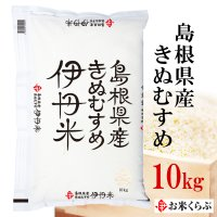 (のし承ります) 精米 10kg 30年産 送料無料 白米 島根県産きぬむすめ 10kg キヌムスメ 10KG