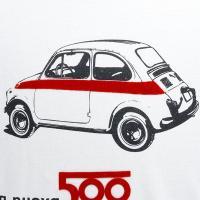 フィアット純正 Nuova 500Tシャツ(500 sport)