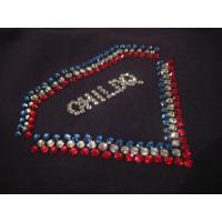ダイヤモンドスリーカラー スワロフスキー ロングTシャツ / France
