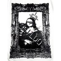 モナリザ スワロフスキー ロングTシャツ / White