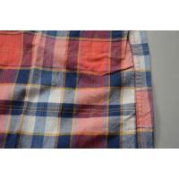 【WINTER SALE】J.CREW / ジェイクルー / マドラスコットンウォッシュドB.Dシャツ / オレンジ×ブルー×ゴールド