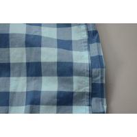 【FINAL SALE】J.CREW / ジェイクルー / NEWライトウエイトコットンSS B.Dシャツ / ブルー×ネイビー ラージギンガム