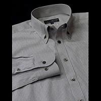 【B-6452-1】 マイターカラー ボタンダウン ドレスシャツ