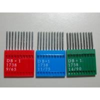 主に工業用ミシンで使用するDB×1のミシン針です。 10本入り1セットの価格です。サイズは#8〜#1...