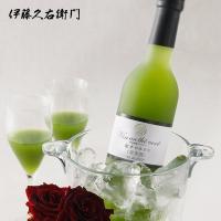 ●白ワインと宇治抹茶を合わせたお酒を作りました 色は、鮮やかな緑色。ひとくち口に含むと、葡萄のやわら...
