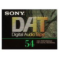 ソニーのDAT(Digital Audio Tape)54分テープ。 新品未開封品です。