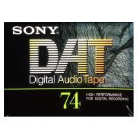 ソニーのDAT(Digital Audio Tape)74分テープ。 新品未開封品です。