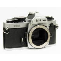 【中古品】[マニュアルフォーカスフイルム一眼レフカメラ] ■ Nikon New FM2 シルバー ...