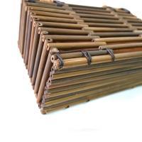 (イウハ) IUHA ナチュラルな和の雰囲気 竹製 軽量 巾着 ハンドバッグ かごバッグ 竹かご
