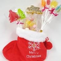 クリスマス キャンディー クリスマスブーツ キャンディ セット 数量限定|iwaiseika