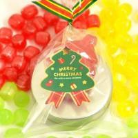 クリスマス キャンディ 缶|iwaiseika