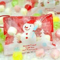 クリスマス オーナメント プチギフト お菓子 オーナメントキャンディー iwaiseika