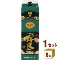 芋焼酎 黒霧島  25度 1800ml チューパック 1.8L×6本