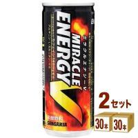 サンガリア ミラクルエナジーV缶250ml 60缶(30缶入×2ケース)