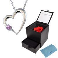 y160593 人気のDiamond ROSEの宝石箱とピンクサファイアダイヤモンドネックレスとジュ...