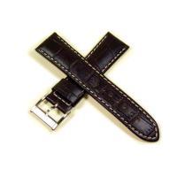 ハミルトン・ジャズマスターオートクロノ用の純正ベルトです。(ばね棒付) 取付幅22mm、白ステッチ入...