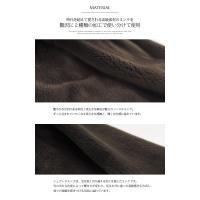ミンク コート ロング フード / レディース 毛皮 ファー